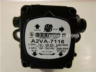 NEW Suntec Single Stage Fuel Oil Burner Pump A2VA 7116 More Parts