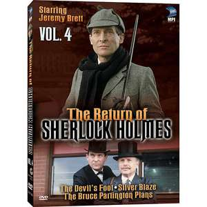 The Return Of Sherlock Holmes, Vol.4 The Devils Foot / Silver Blaze