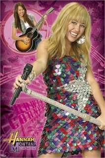 TV POSTER ~ HANNAH MONTANA Miley Cyrus GUITAR PICKS