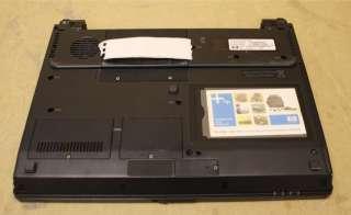 hp compaq nc2400 laptop notebook u2500 intel core duo 1 2ghz cpu