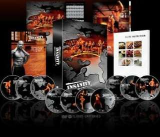 INSANITY 60 Day Workout 13 DVD Guides New