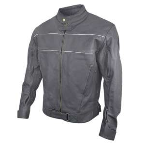 Matte Black Premium Cowhide Leather Motorcycle Jacket