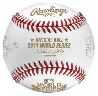MLB 2011 WORLD SERIES CHAMPIONSHIP CARDINALS GAME BALL BASEBALL