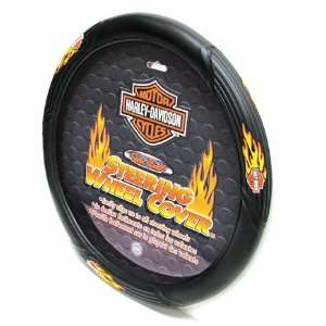 Harley Davidson Flames Steering Wheel Cover Automotive