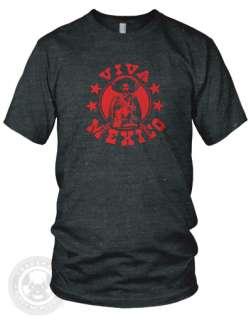 Viva Mexico Vintage guns American Apparel TR401 T Shirt