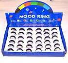 24 PC MOOD BAND RING change color rings custome jewelry