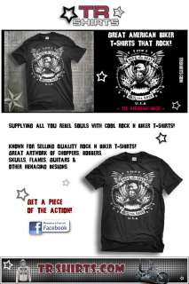 offers quality Harley, v twin, choppers and bobber motorcycle t shirts