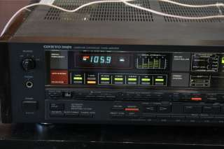 Onkyo Integra Computer Controlled Tuner Amplifier (Receiver) TX 85