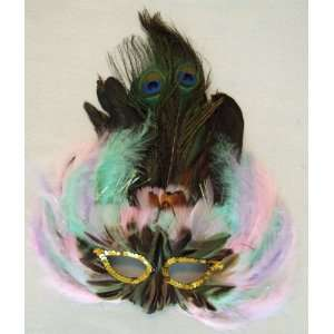 Pastel Colors Masquerade Ball Party Mask Costume Halloween