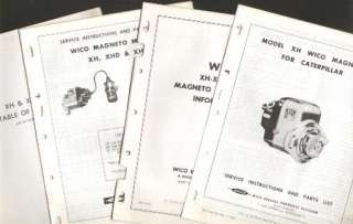 BUDA ENGINE WICO MAGNETO GUIDE SERVICE PARTS REPAIR
