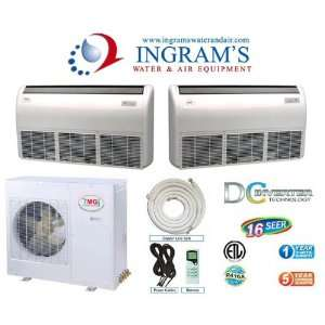 YMGI R410A Ductless Mini Split 16 SEER DC Inverte, Heat Pump 30K BTU