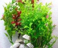 HIGH QUALITY Vivid Fish TANK PLASTIC AQUARIUM PLANTS Assortment Decor