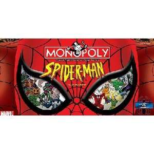 Spider Man Monopoly Collectors Edition Board Game: Toys & Games