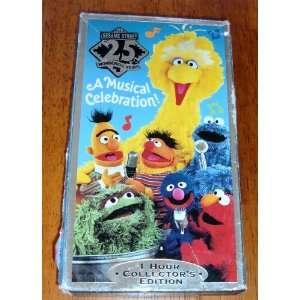 Sesame Street 25 wonderful Years Musical Celebration 1 Hour Collectors