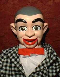 Knucklehead Ventriloquist Dummy Doll Puppet figure