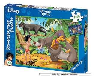 pieces jigsaw puzzle Disney   Jungle Book Mowglis friends (090501