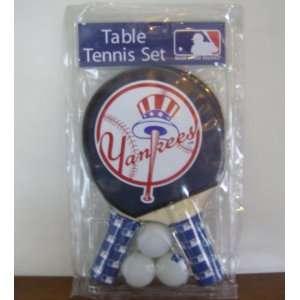 NEW YORK YANKEES TABLE TENNIS SET