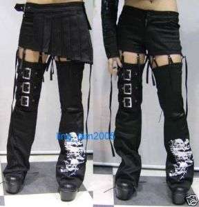 NANA Lolita Kera VISUAL KEI PUNK GOTHIC Pants skirt EMO