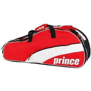 Prince 11 T22 Team 12 Pack Tennis Bag (Red/White) Sports