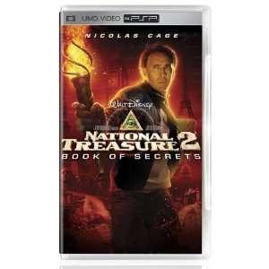NATIONAL TREASURE 2 Book Of Secrets UMD PSP Movie ^^ Video Games