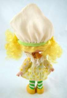 Vintage Strawberry Shortcake Friend Lemon Meringue Doll With Yellow
