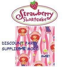 Strawberry Shortcake Birthday Cello Treat Bags 16pc