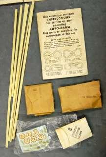 60s Gilbert American Flyer SLOT CAR Figure 8 Speedway Race Set IN BOX