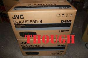 New JVC DLA HD550 1080P Home Theater Projector DLAHD550