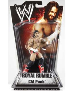 Mattel WWE Royal Rumble Series 1  CM Punk Action Figure