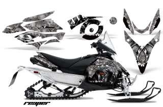 AMR RACING SNOWMOBILE DECAL GRAPHIC KIT YAMAHA PHAZER RTX GT MTX 07 12