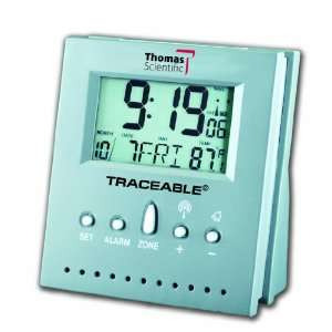 Atomic Clock, 2.5 Width x 3 Height x 1.5 Thick, 32 to 158 degree F