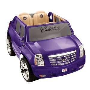 Power Wheel Purple Cadillac Escalade Toys & Games